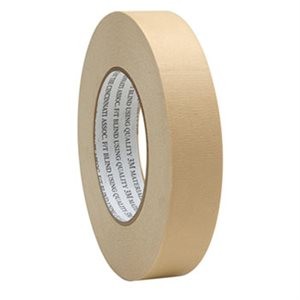 "TAPE, MASKING 1"" X60YDS SUPERIOR BEIGE 36RL / CS"