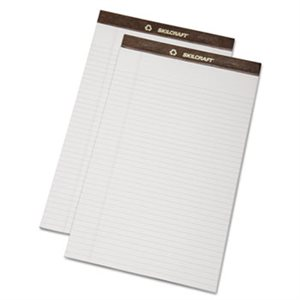 7530013723109  Legal Pad, Double Line Margin, 8-1 / 2 x 14, White, 50 Sheets, 1 Dz.