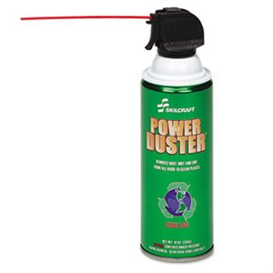 AIR DUSTER, POWER DUSTER,  ABILITYONE, 10 OZ