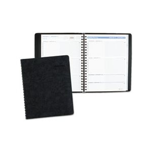 "APPOINTMENT BOOK, THE ACTION PLANNER, WEEKLY, 8.125"" x 10.875"", BLACK, 2020"
