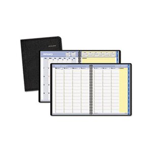 "APPOINTMENT BOOK, QUICKNOTES, WEEKLY / MONTHLY, 8.25"" x 10.875"", BLACK, 2020"