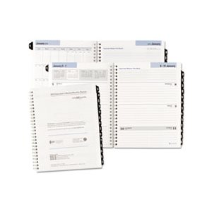 "PLANNER, EXECUTIVE, WEEKLY / MONTHLY REFILL, 6.875"" x 8.75"", 2020"