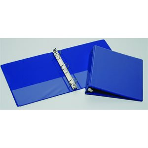 "BINDER, 3-RING, 1.5"", BLUE, VIEW"