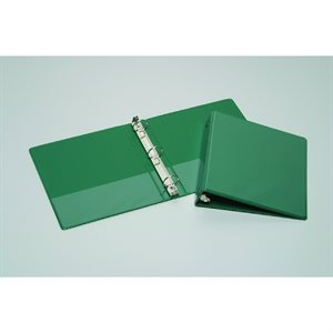 "BINDER, 3-RING, 1.5"", GREEN, VIEW"