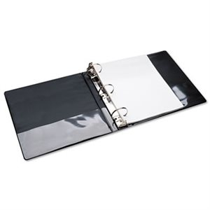 "BINDER, 3-RING, 2"", BLACK, VIEW"