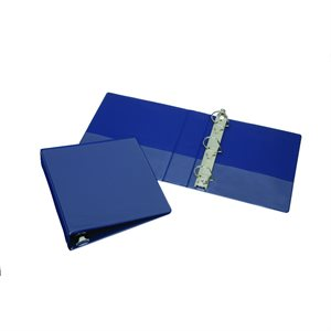 "BINDER, 3-RING, 2"", BLUE, D-RING"