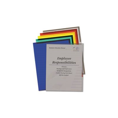 Project Folders, Jacket, Letter, Poly, Assorted Colors, 25 / Box