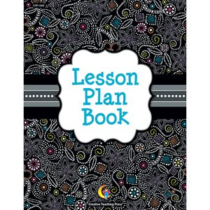 "BOOK, LESSON PLAN, BW COLLECTION, SPIRAL BOUND, 8.5"" X 11"""