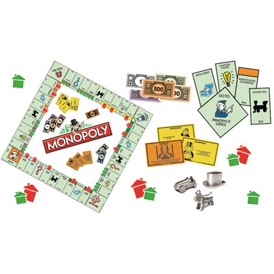 BULLETIN BOARD SET, MONOPOLY, MINI