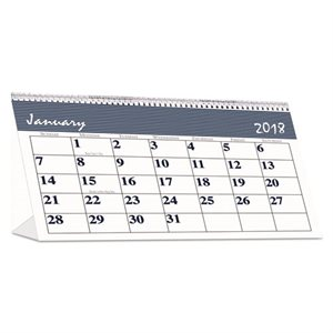 Calendar, Recycled Bar Harbor Desk Tent Monthly, 7 x 4 1 / 4, 2019