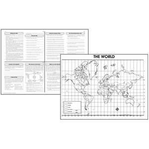 ACTIVITY POSTERS, WORLD MAPS
