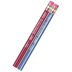 JUMBO PENCILS, 1 DOZEN WITH ERASER