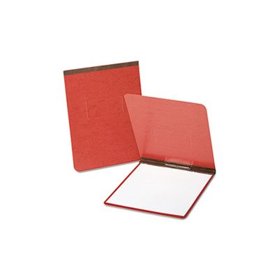 "PressGuard Coated Report Cover, Prong Clip, Letter, 2"" Capacity, Red"