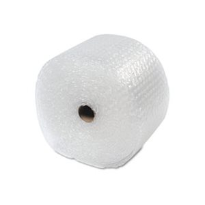 "Recycled Bubble Wrap®, Light Weight 5 / 16"" Air Cushioning, 12"" x 100ft"