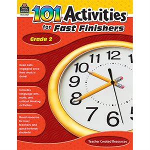 ACTIVITY BOOK, GR 2 101 FOR FAST FINISHERS